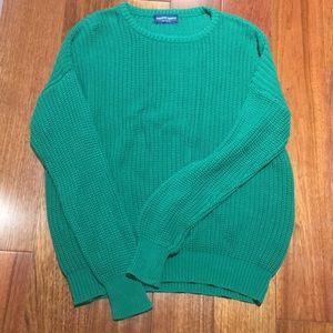 American Apparel fisherman sweater size L